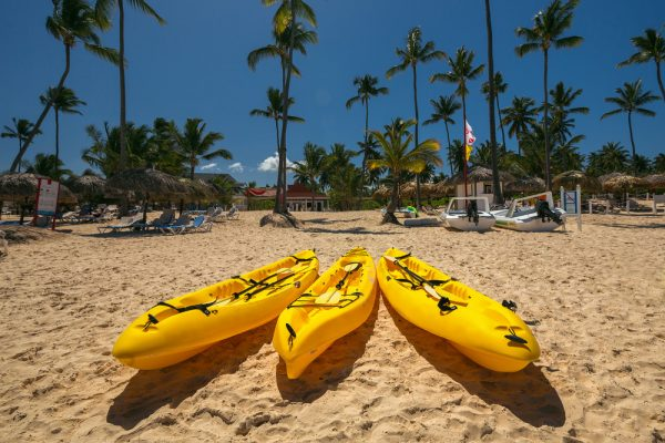 Punta Cana: Kayaks On Beach