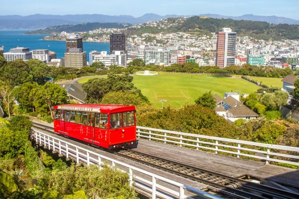 New Zealand: Wellington Cable Car