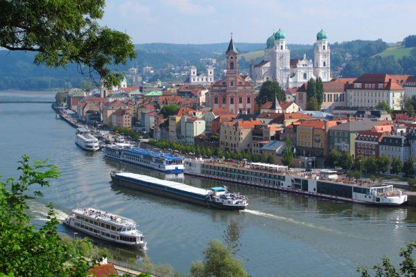 Passau on the Danube River