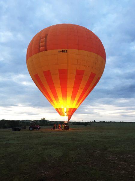 Kenya Tanzania - Hot Air Balloon Ride