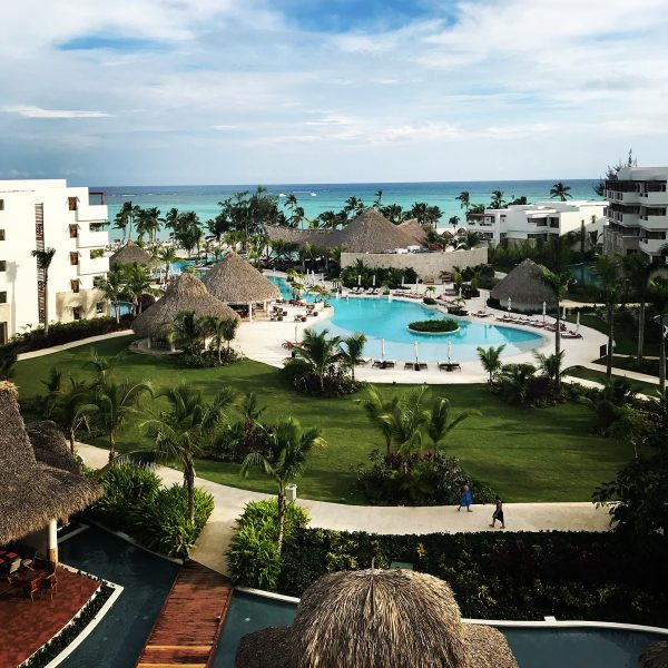 View from balcony - Secrets Cap Cana - Punta Cana, Dominican Republic