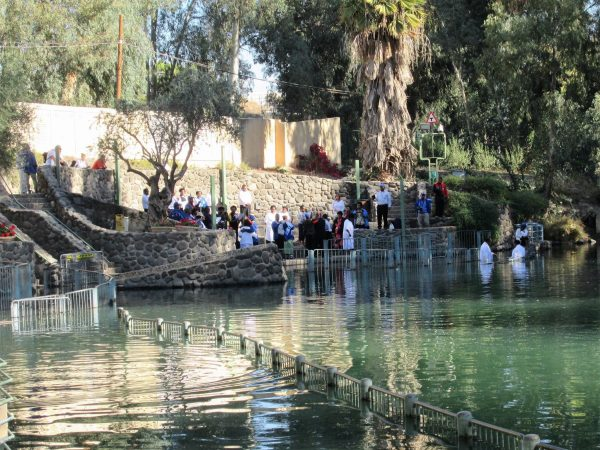 Baptism in Jordan River