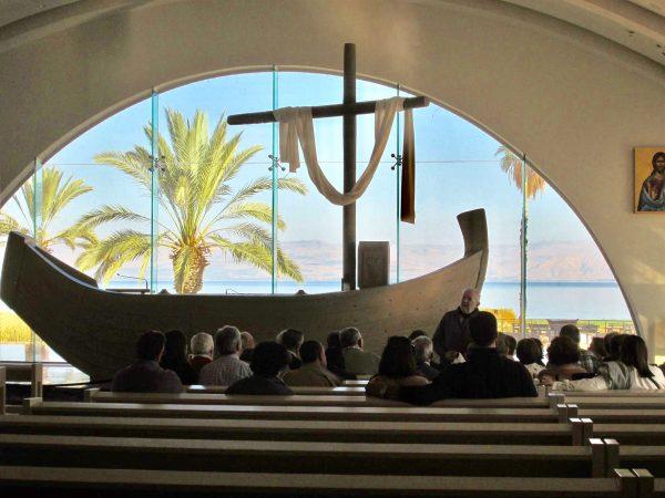 Boat Chapel at Magdala