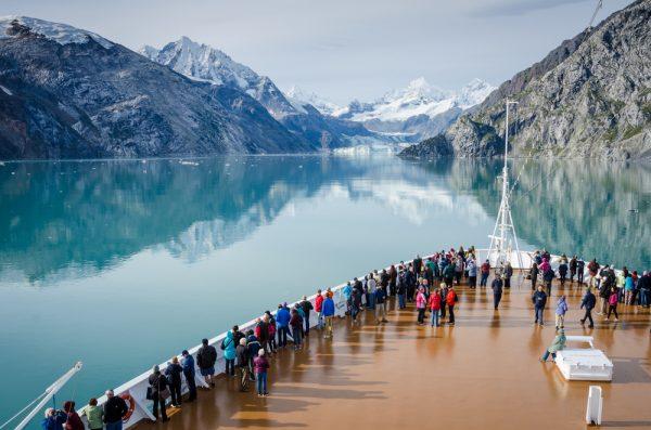 Glacier Bay National Park and Preserve in Southeast Alaska.